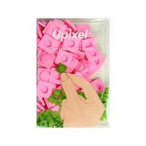Nagy rózsaszín pixel