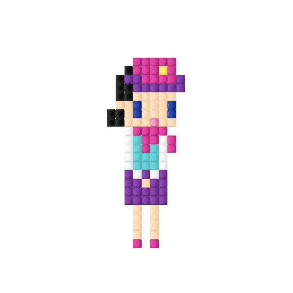 Pixel szett T-S002